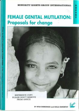 Female Genital Mutilation: Proposals for Change