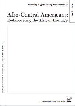 Afro-Central Americans: Rediscovering the African heritage