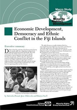 Economic Development, Democracy and Ethnic Conflict in the Fiji Islands (November 2001)