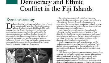 Economic Development, Democracy and Ethnic Conflict in the Fiji Islands