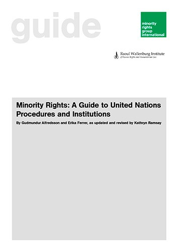 Minority Rights: A Guide to United Nations Procedures and Institutions