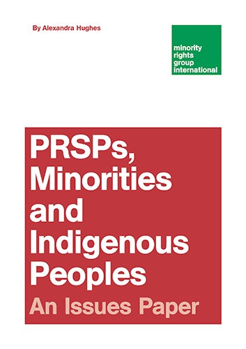 PRSPs, Minorities and Indigenous Peoples - An Issues Paper