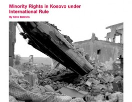 Minority Rights in Kosovo under International Rule