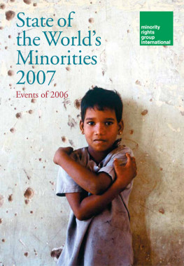 State of the World's Minorities 2007