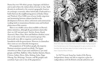 Minorities in Burma