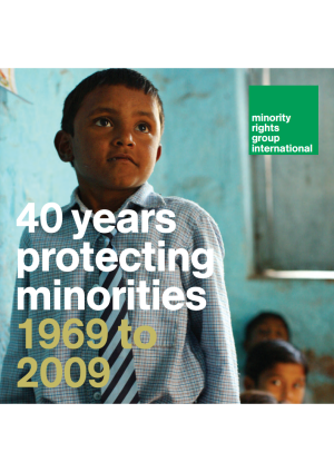 40 years protecting minorities - 1969 to 2009