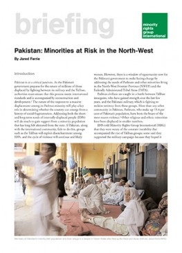 Pakistan: Minorities at Risk in the North-West
