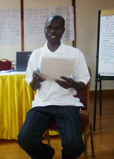 Minority Rights Group Training in Uganda