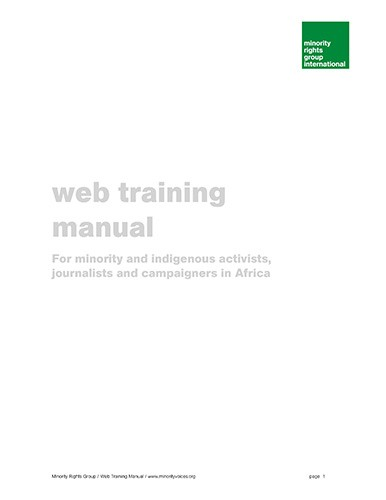 Minority Voices Web Training Manual