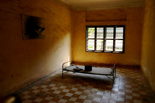 Torture chamber at S-21 prison