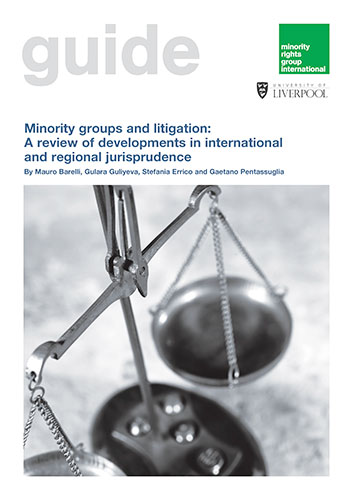 Minority groups and litigation: A review of developments in international and regional jurisprudence