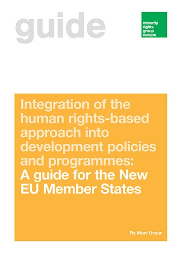 Integration of the human-rights-based approach into development policies: A guide for the new EU Member States