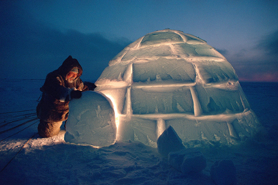 Igloos In The Arctic The Arctic: a reality ...