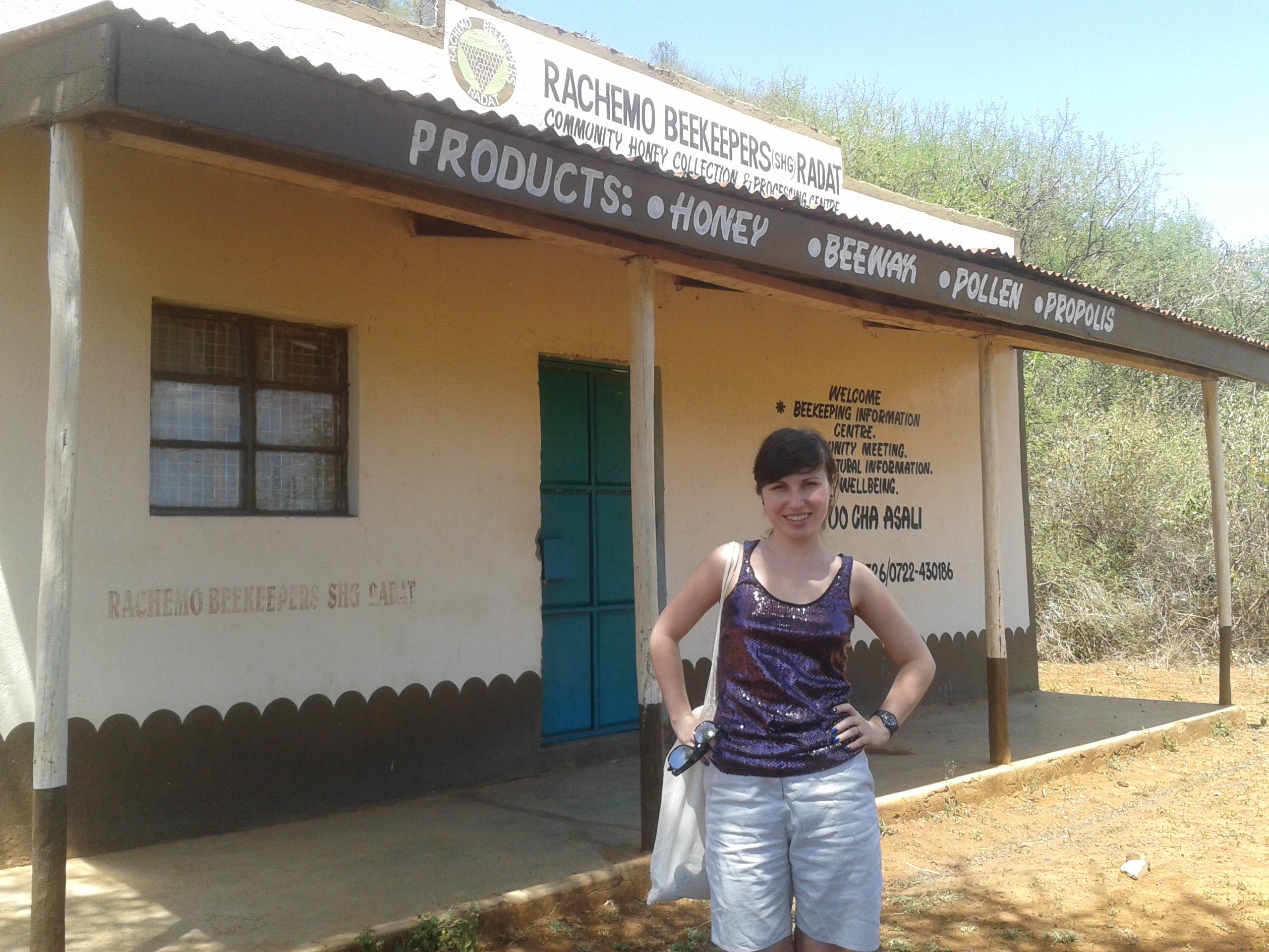 Victoria visits Kenya.