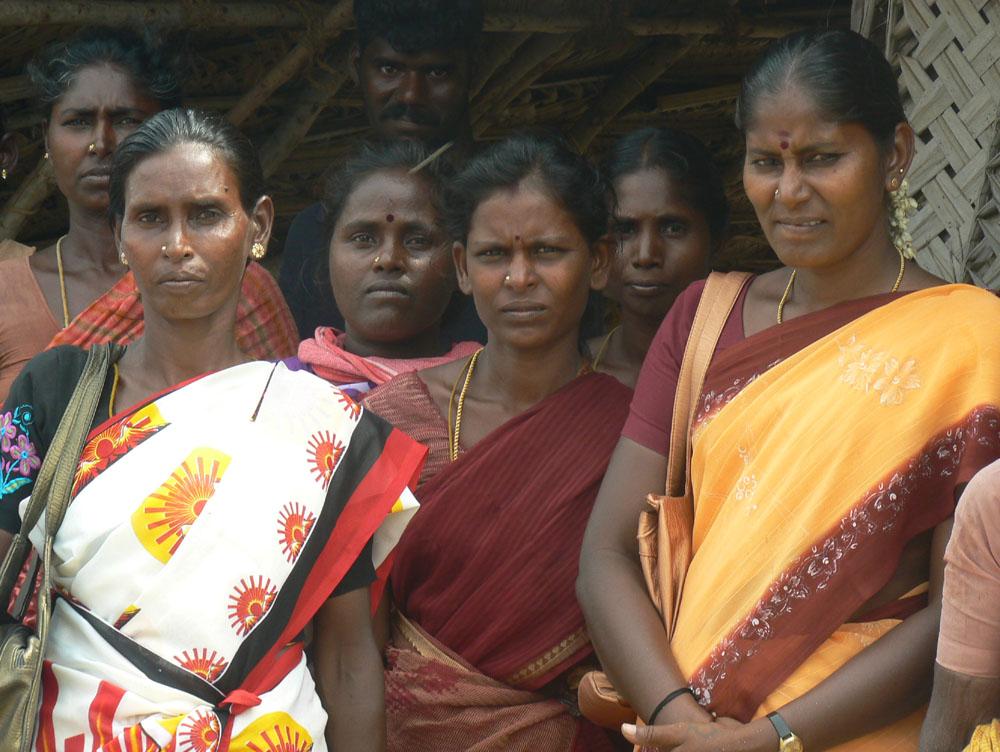 Dalit women in India.