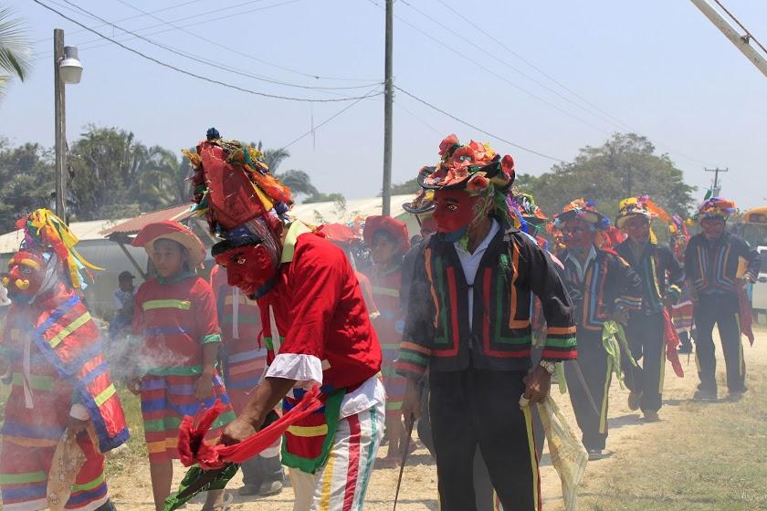 Traditional Maya dance Credit: Chelsea Purvis