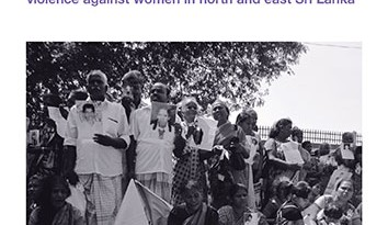 Living with Insecurity: Marginalization and Sexual Violence against Women in North and East Sri Lanka (October 2013)