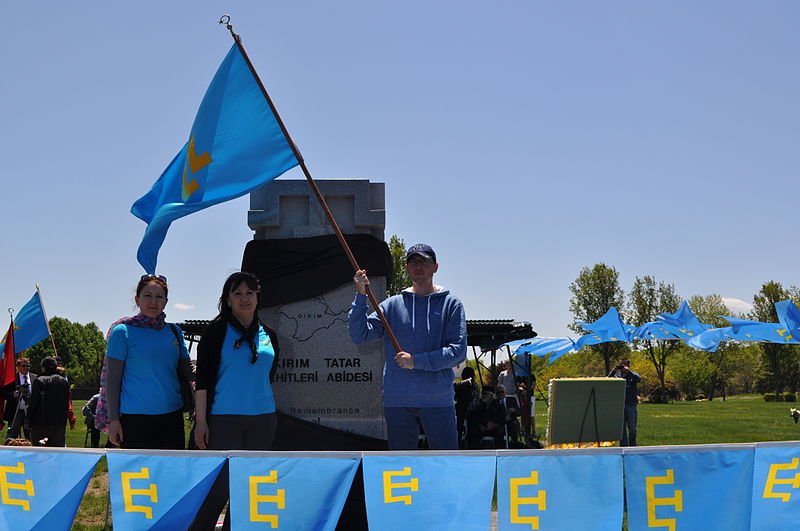 Ceremony to commemorate the 70th anniversary of the deportation of the Crimean Tatars