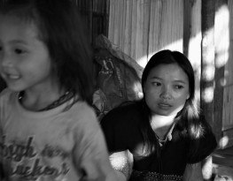 Karen mother and child Thailand