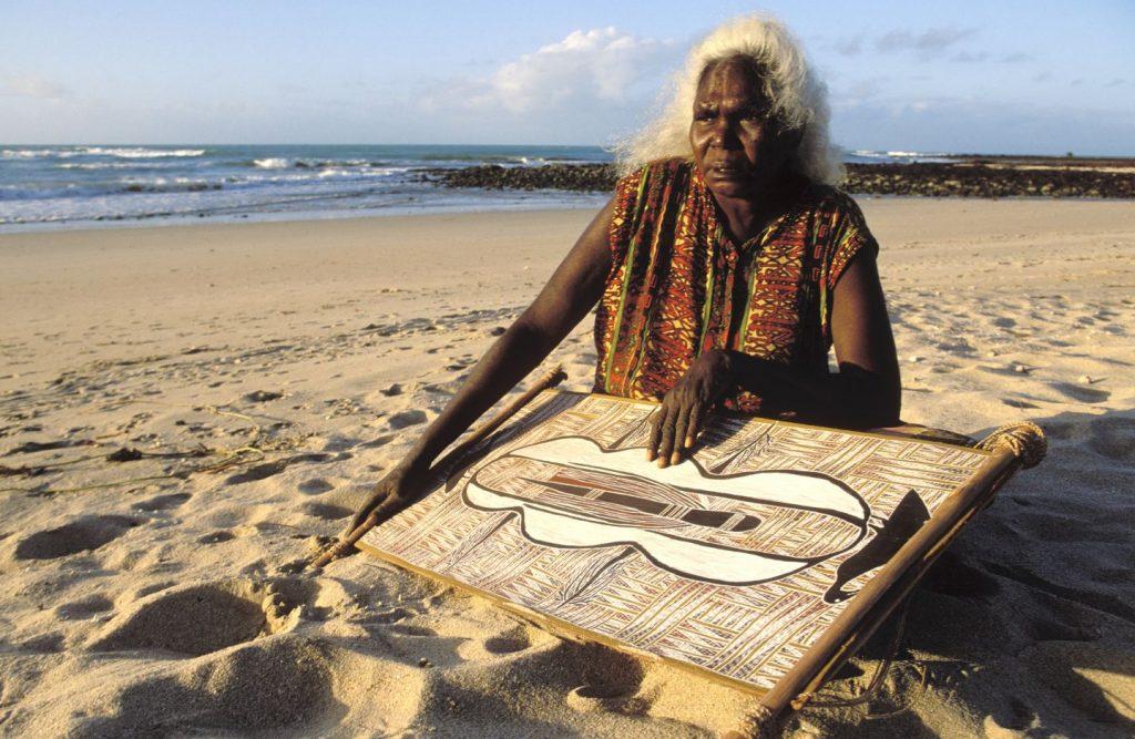 Aboriginal woman Australia