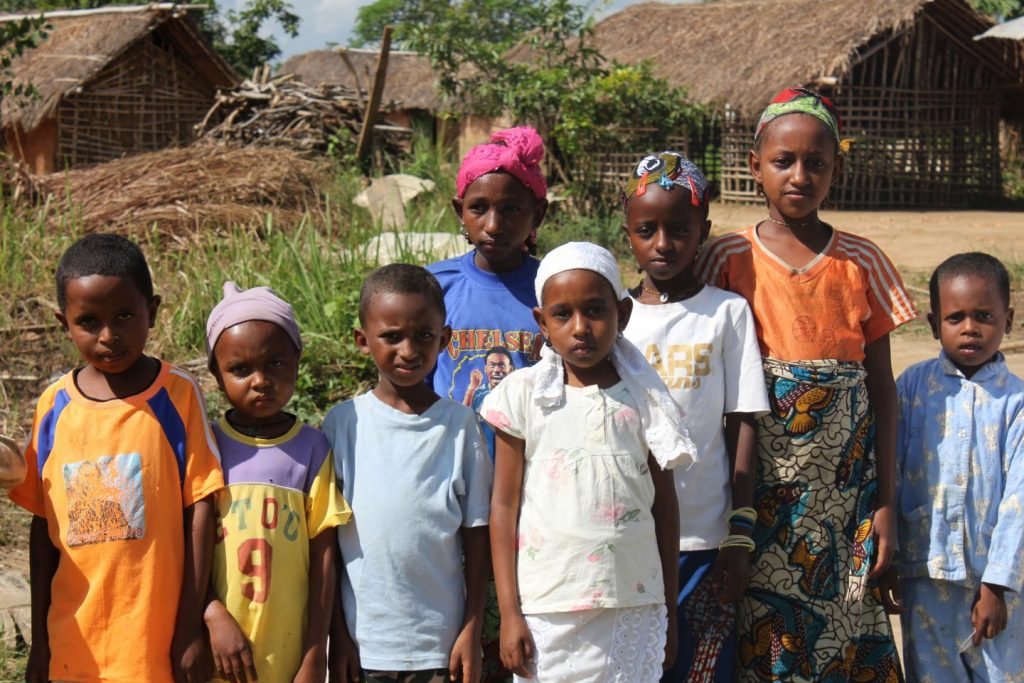 Mbororo children Cameroon