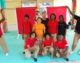 Participants of the Street Theatre Programme, Dominican Republic. Credit: MRG