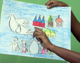 Artwork from MRG's Sri Lanka rights and reconciliation project