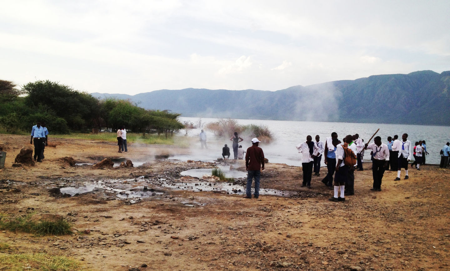 Lake Bogoria, a site of great cultural and religious significance to the Endorois in Kenya.