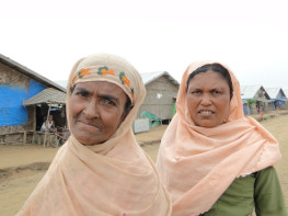 Rohingya women, Burma. Credit: European Commission DG ECHO