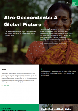 Afro-Descendants: A global picture