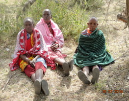Maasai women in Kenya