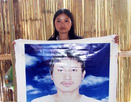 Mue Naw-wife of a disappeared Karen land rights activist in Thailand-