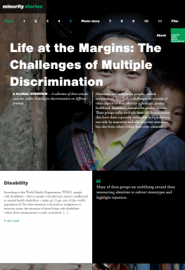 Life at the Margins: The Challenges of Multiple Discrimination