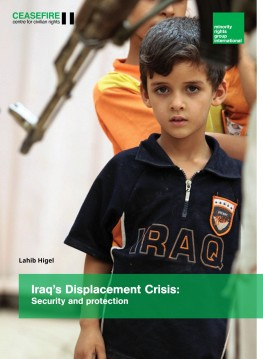 Iraq's Displacement Crisis: security and protection