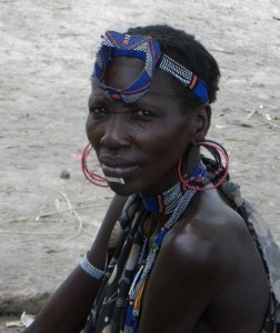 Photo: Murle woman in South Sudan Credit: Judy acCallum