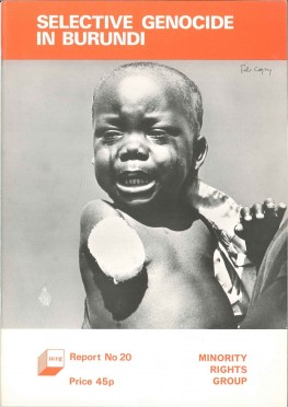 Selective Genocide in Burundi