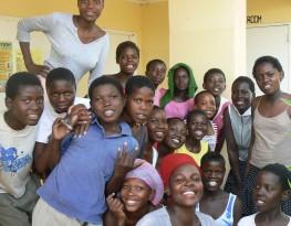 A photo of Wayeyi children. Credit MRG.