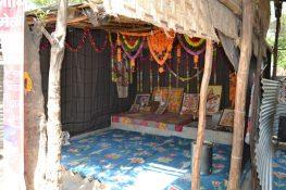 Majnu ka Tila, home to Hindu refugees from Pakistan