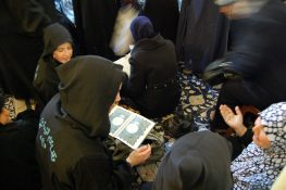 Shia women pray