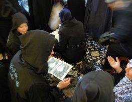 Shia women pray