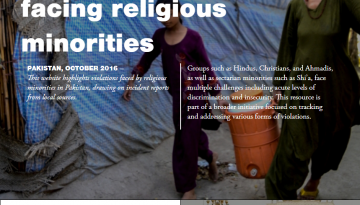 Reports from Pakistan: Tracing the challenges facing religious minorities