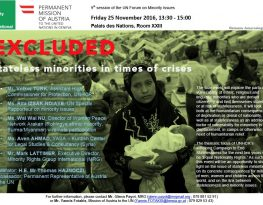 Statelessness flyer
