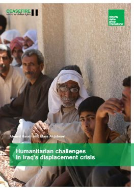 Ceasefire report cover Iraq IDPs