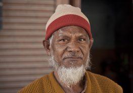 Muslim man in India. Credit: Meena Kadri.