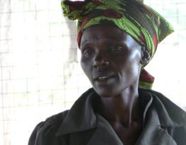 Endorois woman in Kenya