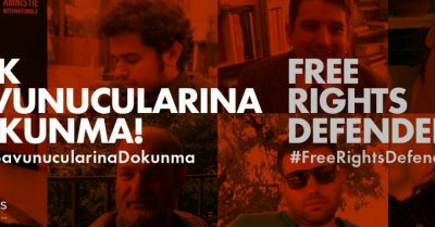Call for the immediate release of leading human rights defenders in Turkey
