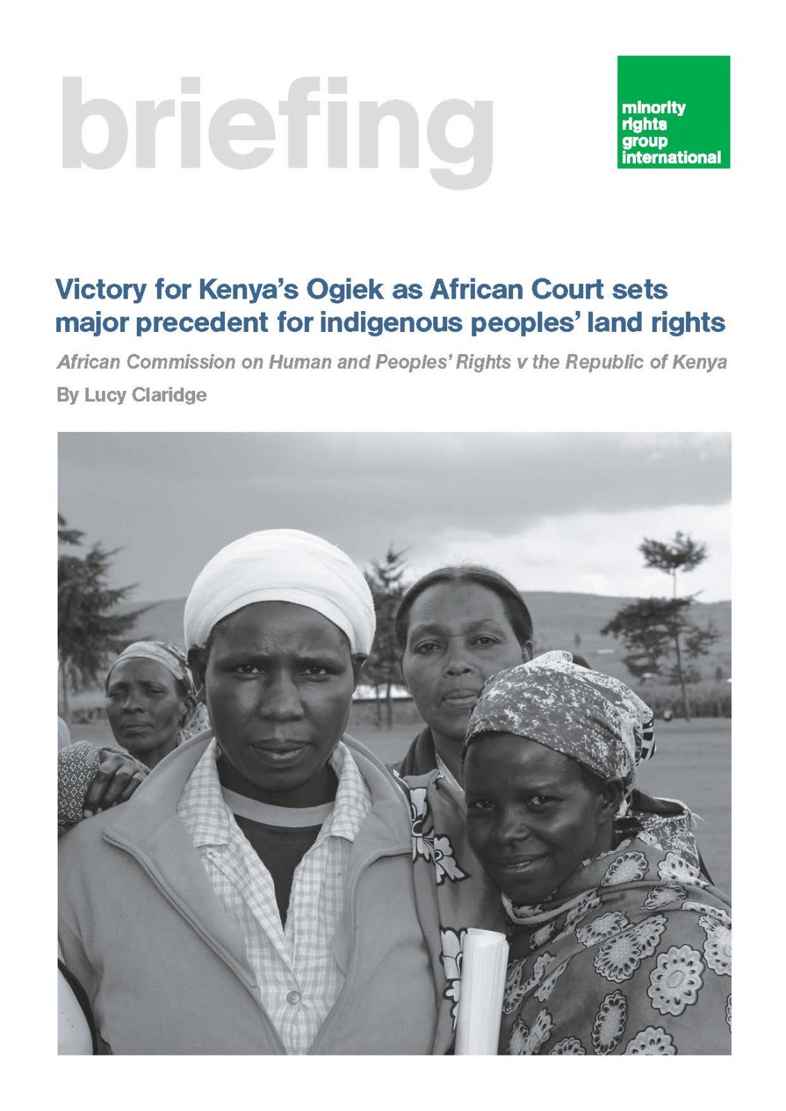 Victory for Kenya'sOgiekas African Court sets major precedent for indigenous peoples' land rights