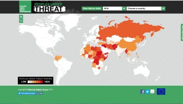 Peoples under Threat 2018: Government crackdowns on freedom of speech and political opposition now key factors in threat of mass killing and other violence