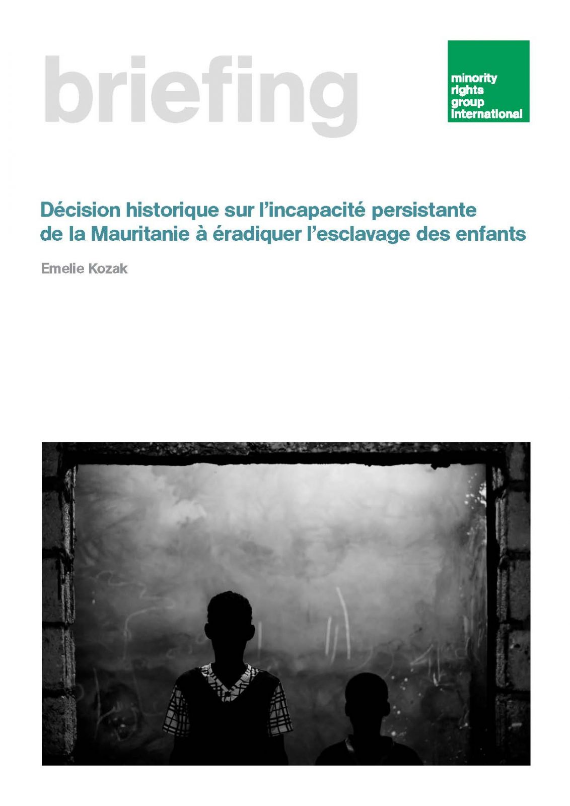 Landmark ruling on Mauritania's continued failure to eradicate child slavery