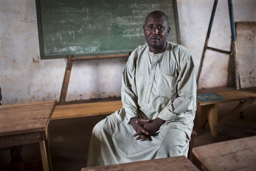 Mamadou, a Muslim returnee, in Berberati, CAR. Credit: Will Baxter.